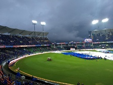 Sports Hub (Greenfield Stadium) during the India vs New Zealand T20