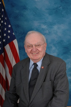 Howard Coble, who was re-elected as the U.S. Representative for the 6th district
