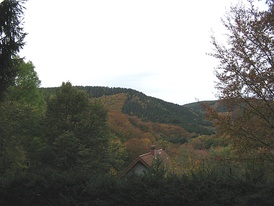 View to the west over the Kall Valley.