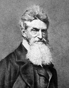 Tubman helped John Brown (pictured) plan and recruit for the raid at Harpers Ferry
