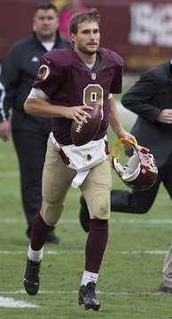 Quarterback Kirk Cousins after the comeback victory against the Tampa Bay Buccaneers in 2015, the largest in franchise history