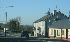 The village of Moneygall (population 298) from which one of Obama's great-great-great grandfathers came