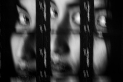 Namaka, contact sheet photograph combined with intentional camera movement