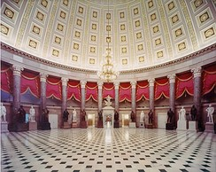 National Statuary Hall Collection viewed from the south