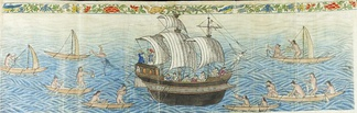 Manila Galleon in the Marianas and Carolinas, c. 1590 Boxer Codex
