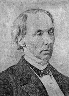 Robert Dale Owen as he appeared in his later years.