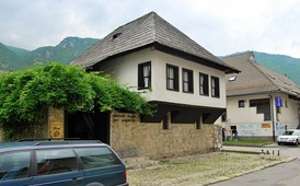 The house in which Andrić was born