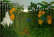 Henri Rousseau, The Repast of the Lion, c. 1907