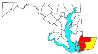 Location of the Salisbury-Ocean Pines CSA and its components:   Salisbury Metropolitan Statistical Area   Ocean Pines Micropolitan Statistical Area