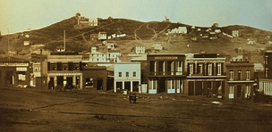 Portsmouth Square, San Francisco, during the Gold Rush, 1851