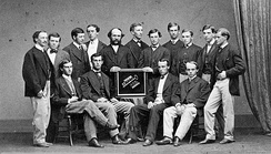 Students of Yale College, 1866