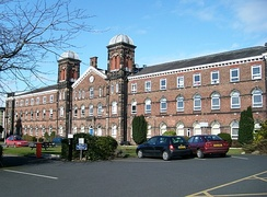The University of Cumbria's Fusehill Campus in Carlisle