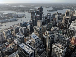 Sydney's northern CBD serves as the financial and banking hub of the city