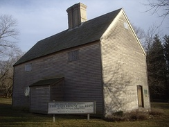The Old House in Cutchogue, built 1649, is the oldest English-style house in the state.