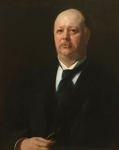 Portrait of Speaker Reed by John Singer Sargent, Collection of the U.S. House of Representatives.