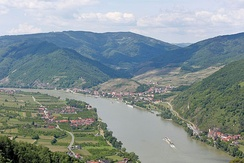 Wachau Valley near Spitz, Austria