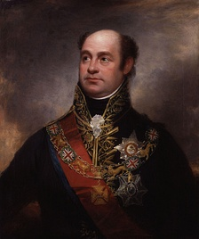 Sir William Beresford, commander of the British troops.
