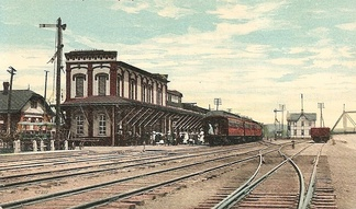 Williamsport station c. 1910