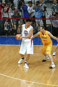 Yao was the leading scorer of the 2006 FIBA World Championship.