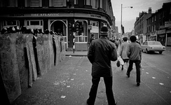 The Brixton race riot in London, 1981