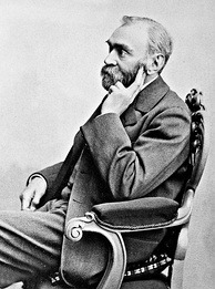 Alfred Nobel, inventor of dynamite and institutor of the Nobel Prize