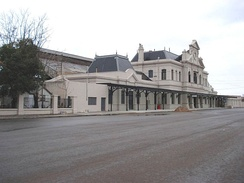 Bahía Blanca Sud railway station of the General Roca Railway