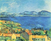 Paul Cézanne, The Bay of Marseilles, view from L'Estaque, 1885