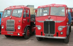 BRS liveried trucks