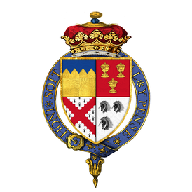 The arms of the 2nd Duke of Ormond