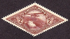 A Costa Rica Airmail stamp of 1937.