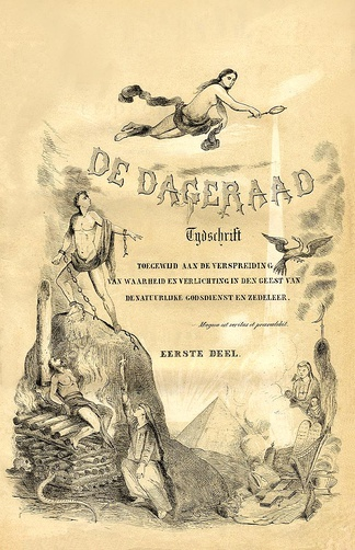 Cover of the first De Dageraad.