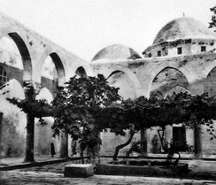 The Firdaws Madrasa was built in 1236 under the patronage of Dayfa Khatun, Aleppo