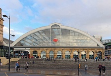 Liverpool Lime Street railway station is the main inter-city and long distance station in Liverpool