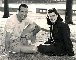 Greenberg with his first wife Caral Gimbel in Lakeland, Florida.