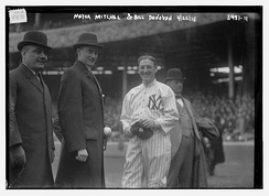 New York Mayor J.P. Michel, Jacob Ruppert and Donovan in 1915