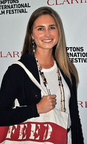Lauren Bush at a 2011 party promoting her FEED charity, which helps fund the United Nations' efforts to feed children throughout the world