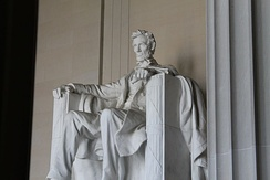 The Lincoln Memorial receives approximately 6 million visits annually.