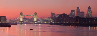 The name London may derive from the River Thames