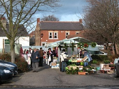 Market day in Easingwold
