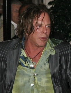 Rourke at the 2008 Toronto International Film Festival.