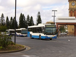 Newcastle's City Bus Interchange