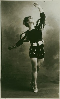 Vaslav Nijinsky as Albrecht, 1910