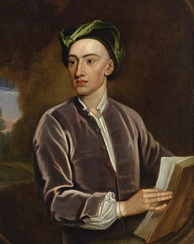 Portrait of Alexander Pope. Studio of Godfrey Kneller. Oil on canvas, c. 1716[3]