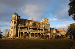 The Viceregal Lodge in Simla, built in 1888, was the summer residence of the Viceroy of India