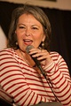 Roseanne Barr of Hawaii, Comedian, actor, liberal activist, and former sitcom, cooking show, and talk show host.