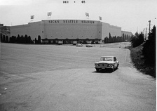 Sick's Stadium in 1965