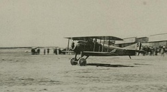SPAD VII taking off