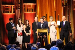 The cast and crew of The Knick at the 74th Annual Peabody Awards.