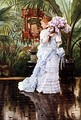 Day dress, c. 1875 James Tissot painting.