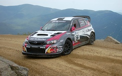 Pastrana at the 2014 Mount Washington Hillclimb